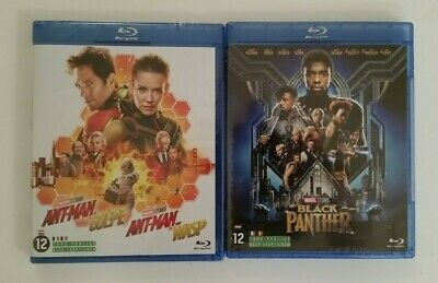 2 Blu-ray Marvel 2019:  Ant-Man et la Guepe / Black Panther
