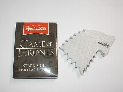 Game of Thrones House Stark Sigil USB Flash Drive 4GB Loot Crate