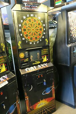 Nice Galaxt Top Gun Challenge Commercial Coin Operated Dart Board #3