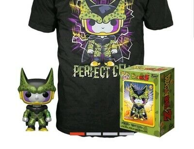 Funko Pop! Tee * PERFECT CELL* Metallic (Game Stop Exclusive) Pre-Order 10/18/19