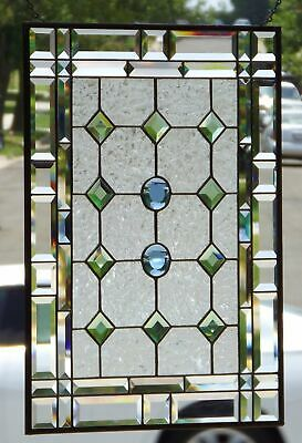 """•In Perfect Harmony • Beveled Stained Glass Window Panel • 24 ½"""" x 18 ½"""""""