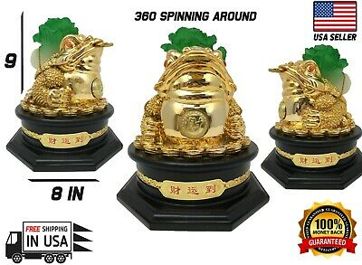 Feng Shui Money Frog Money Toad Statue,Feng Shui Decor Attract Wealth and Goods