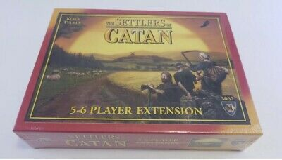 The Settlers of Catan Board Game 5-6 Player Extension 3062 4th Ed New/Sealed