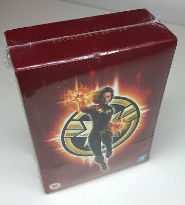 Captain Marvel Collectors Edition 2 Disc Blu-ray - New & Sealed