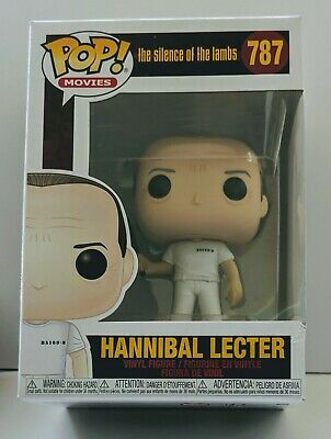 """/""""SILENCE OF THE LAMBS/"""" HANNIBAL LECTER BRAND NEW POP MOVIES #787  IN HAND"""
