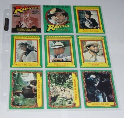 Topps 1981 Raiders of the Lost Ark Trading Card Set