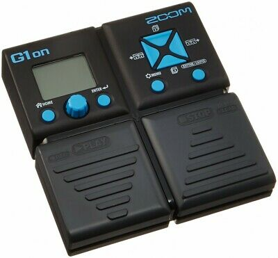 Zoom Guitar Multi Effects pedals G1on From Japan with Tracking - Free Shipping