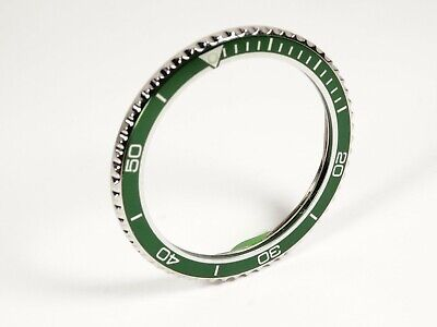 Vostok Bezel Submariner Style for Vostok Komandirskie Watch Seiko Green Insert