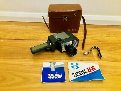 Vintage Yashica UG 8 Movie Camera with Case Instructions and Strap
