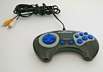 Sega Genesis FIRECORE AtGames 2011 'Plug and Play' Style Game Controller. WORKS