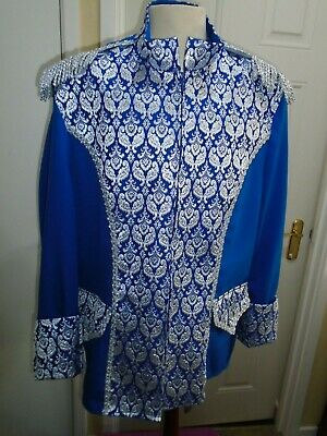 Prince Charming  tunic blue  50 chest size pantomime theatre