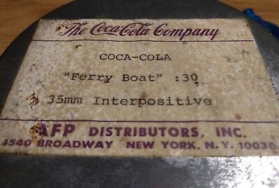The Coca Cola Company Vintage Metal Canister box Rare