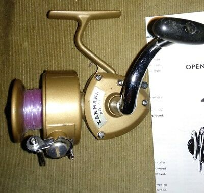 fishing reel karmann 41 with instructions