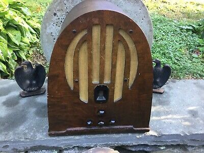 Vintage Philco Cathedral Radio Type 89 Works But Hums