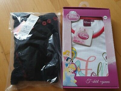 Girls New Bundle Age 7-8 Years, Hello Kitty And Disney Cinderella, New With Tags