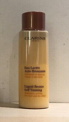BNWOB! Clarins Liquid Bronze Self Tanning Milk - SEALED