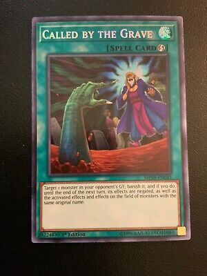 Called by the Grave MP19-EN043 Prismatic Secret Rare - 1st Edition Yu-Gi-Oh!