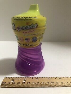 Gerber Graduates Advance Sippy Cup Colors and Designs May 1 ea 5pk 7-Ounce