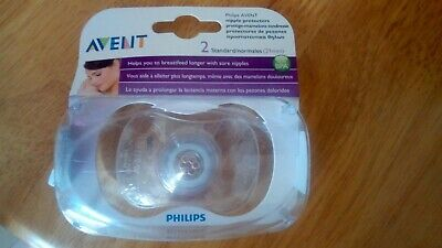 Philips AVENT BPA Free Nipple Protector, Standard 21mm Pack of 2 brand new