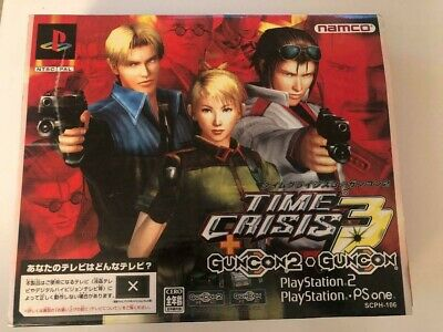 Playstation Ps2 Pistola Time Crisis 3 Guncon Ps One Ps1