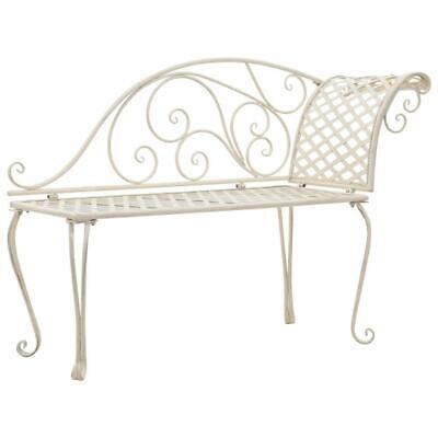 Antique Design Outdoor Garden Decor Metal Lounge Chaise Chair Bench Seat