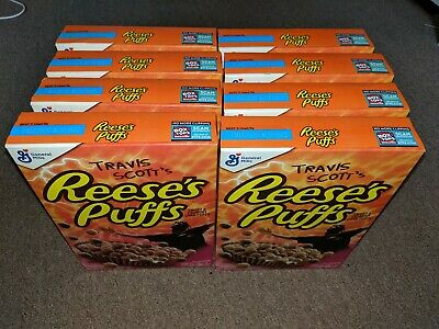 Travis Scott x Reese's Puffs cereal SOLD OUT -  BULK 8 Boxes (Eight)