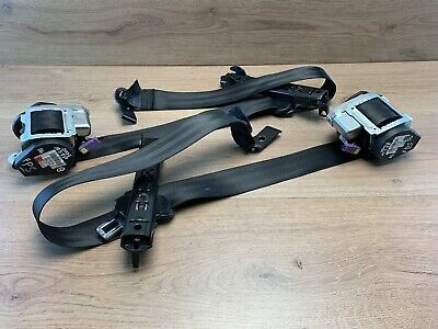Audi A3 8P 2007 Front Driver - Passenger Side Seatbelts Both Sides 5 Door  #16