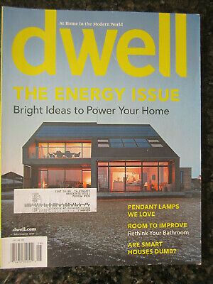 Dwell Magazine July/Aug 2010 - Energy Issue -  Ideas to Power your Home