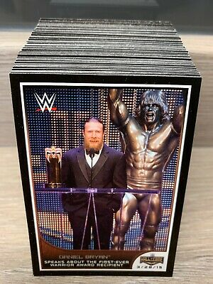 WWE Road To Wrestlemania 2016 Complete 110 Base Set Topps Trading Cards