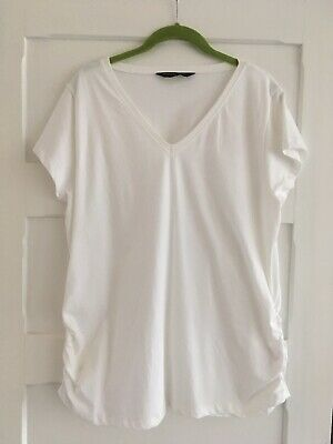 Blooming Marvellous XL White Maternity T-Shirt Mothercare