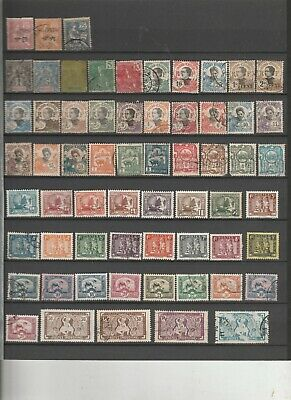France / Indochine / Timbres Neufs Et Obliteres / 3 Pages / Belle Cote
