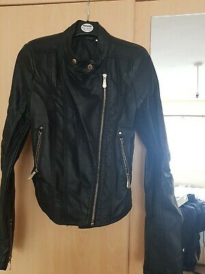 Girls Leather Look Jacket age 12-13 years