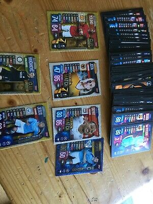 Match Attax 2019/20 - Bundle of 76 Cards Inc Specials. No Duplicates