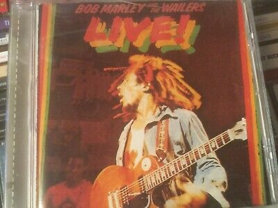 Bob Marley &The Wailers Live Cd No Woman No Cry Get Up I Shot The Sheriff Lively