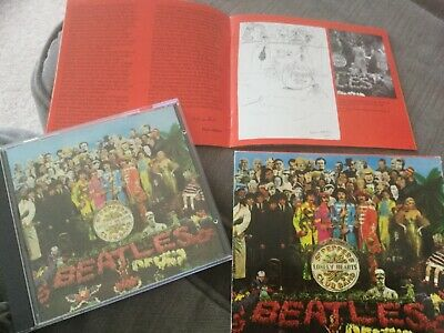 The Beatles Sgt Pepper Cd Classic Album Lucy Leaving Rita Day In The Life Help