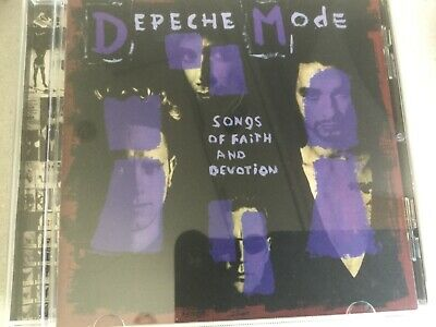 Depeche Mode Songs Of Faith And Devotion Cd I Feel You Shoes In Your Room Judas