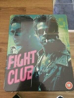 Fight Club Limited Edition Blu Ray Steelbook(New/Sealed)