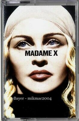 MADONNA - MADAME X Official EXCLUSIVE 13 Track Cassette Tape diff. picture cover