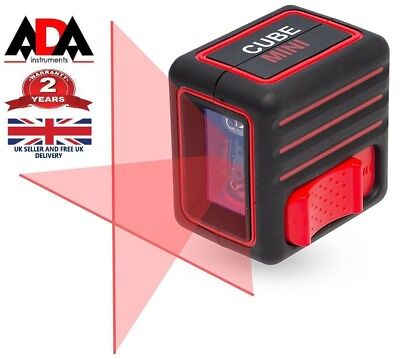 Laser Level Cross Line Self Levelling Handheld ADA INSTRUMENTS CUBE MINI