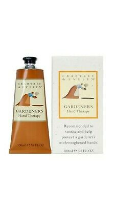 Crabtree & Evelyn Hand Therapy 100g - GARDENERS -Brand New
