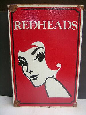 Redheads Matches Australian Made Tin Sign Freepost Australia