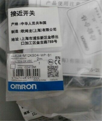 Omron E2A-M12KS04-WP-B1 E2AM12KS04WPB1 cf