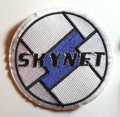 """Terminator Movie SKYNET Embroidered 3.5"""" Patch-USA Mailed (MIPA-TER2)"""