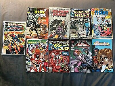 Lot of 9 Comic Books, Bronze Age to Modern, Assorted Titles, #216, 53, 25, 4, 2