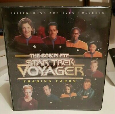 The Complete Star Trek Voyager Trading Card Binder (Rittenhouse, 2002)
