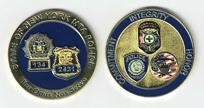 State of New York MTA Police  Challenge Coin NEW