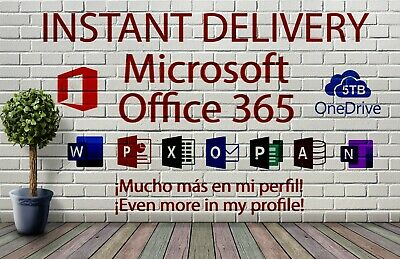 Microsoft Office 2019 365 - Official Download & License- 32/64 Bit