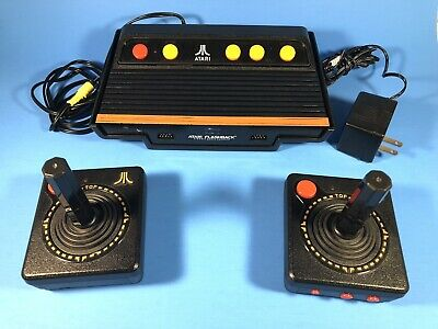 Atari Flashback Classic Game Console with Wireless Joysticks. 40+ Built In Games