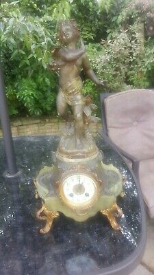 Antique french clocks. rococo looking