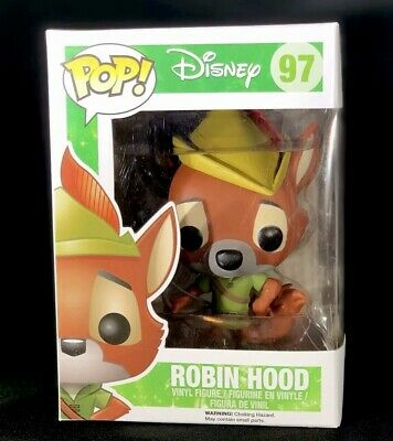 FUNKO POP! Disney #97 Robin Hood NEW Vinyl Figure Collectible 2014 Retired